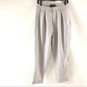 Heartbreak Women's Pants Size M Plaid Checkered